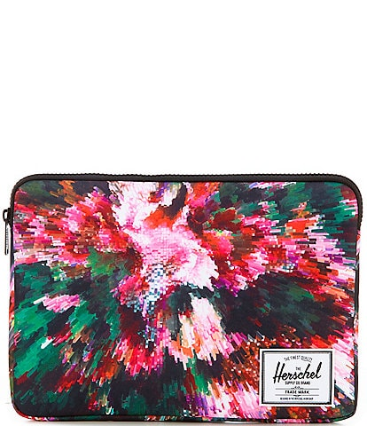 Herschel Supply Co. Anchor Floral 13#double; Laptop Sleeve