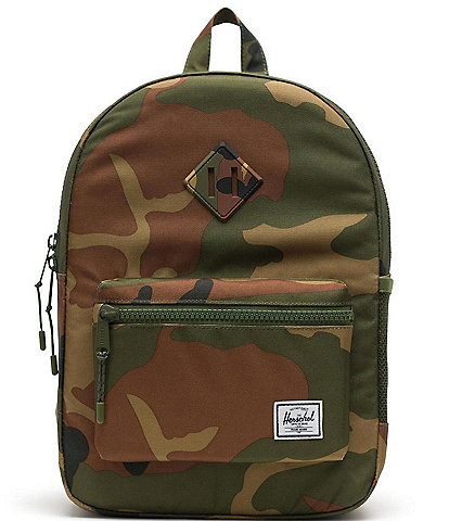 Herschel Supply Co. Heritage Youth Collection Woodland Camo Backpack