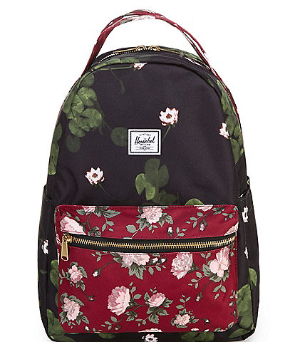 Herschel Supply Co. Nova Mid-Volume Floral Zip Backpack