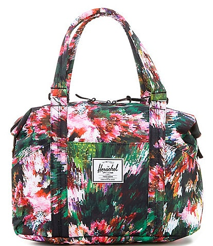 Herschel Supply Co. Strand Floral Top Zip Tote Bag