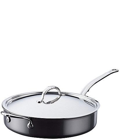 Hestan NanoBond Titanium Stainless Steel Saute Pan, 5 Quart
