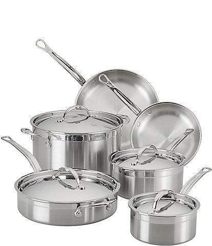 Hestan ProBond Stainless Steel Ultimate Cookware Set, 10-Piece
