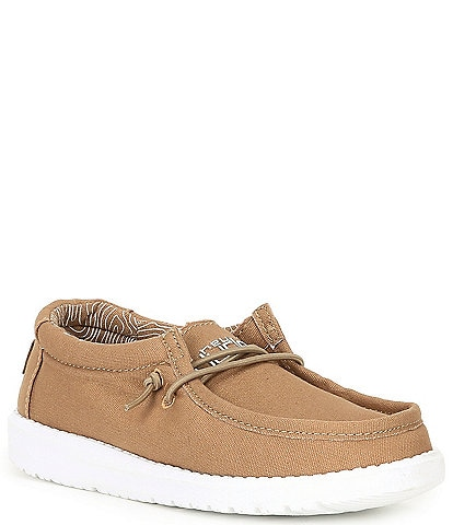 Hey Dude Boys' Wally Canvas Slip Ons (Toddler)