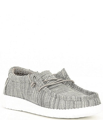 Hey Dude Boys' Wally Linen Washable Slip-Ons (Toddler)