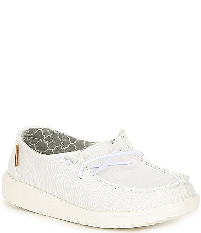 Hey Dude Girls' Wendy Linen Slip-Ons (Toddler)