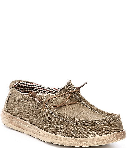 Hey Dude Men's Wally Canvas Chukka