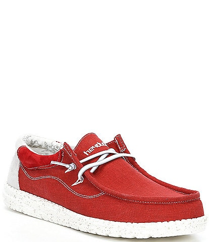 Hey Dude Men's Wally Flow Washable Slip-Ons