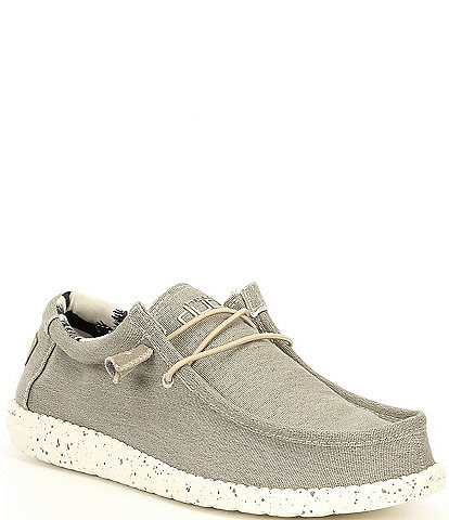 Hey Dude Men's Wally Stretch Washable Chukkas