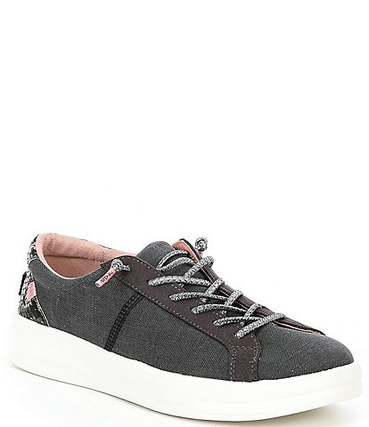 Hey Dude Women's Karina Washable Lace-Up Sneakers