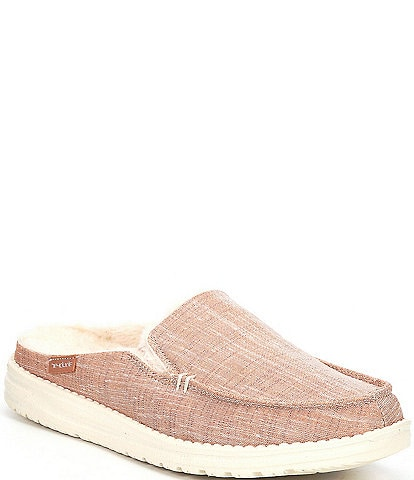 Hey Dude Women's Lexi Faux Fur Lined Sparkling Slip-Ons