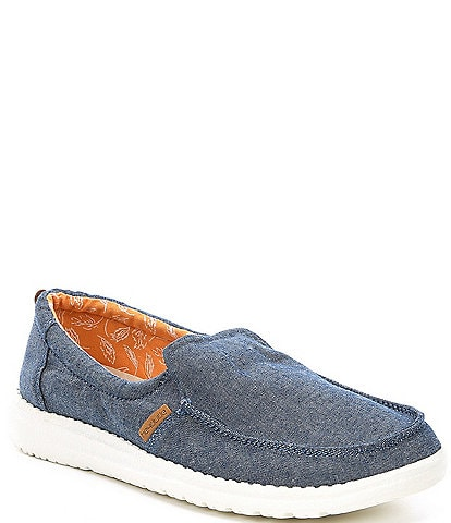 Hey Dude Women's Misty Chambray Slip Ons