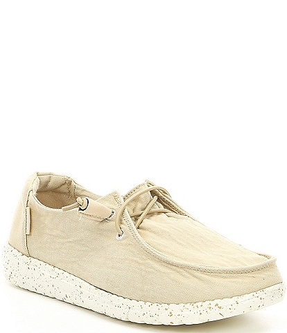 Hey Dude Women's Wendy Canvas Slip Ons