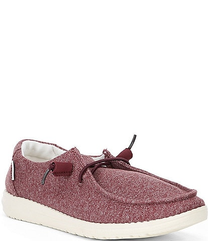 Hey Dude Women's Wendy Stretch Washable Canvas Slip-Ons