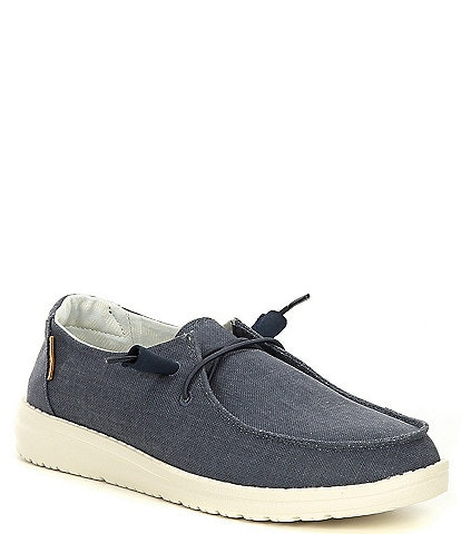 Hey Dude Women's Wendy Linen Washable Slip-Ons