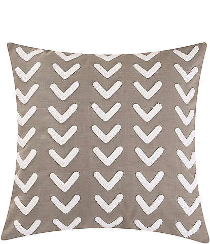 HiEnd Accents Applique Arrow Square Pillow