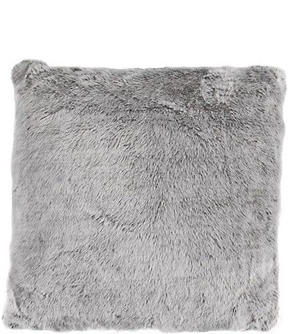 HiEnd Accents Arctic Bear Faux Fur Square Pillow