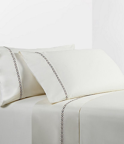 HiEnd Accents Arrow Embroidery Sheet Set