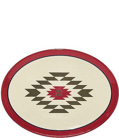 HiEnd Accents Bear Melamine Collection Serving Platter