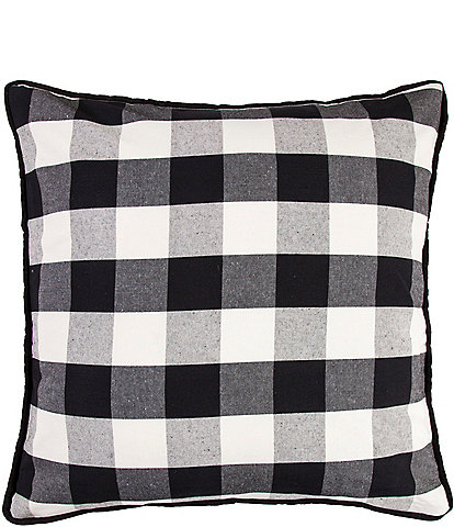 HiEnd Accents Buffalo Check Euro Sham
