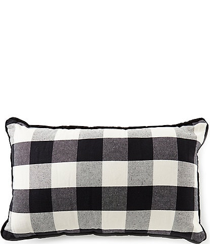 HiEnd Accents Buffalo Check Lumbar Pillow