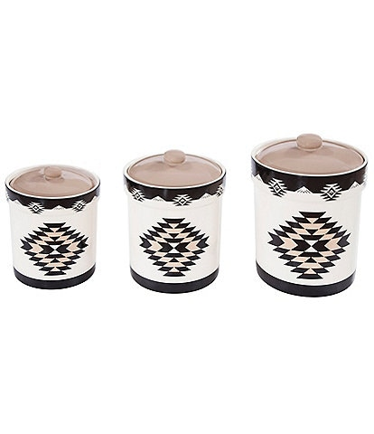 HiEnd Accents Chalet 3-Piece Canister Set