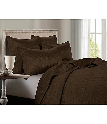 HiEnd Accents Channel Satin Quilt Mini Set