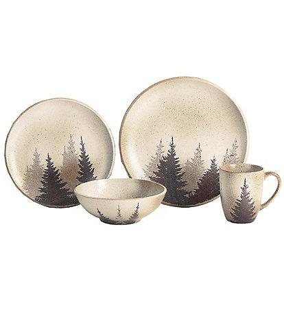 HiEnd Accents Clearwater Pines 16-piece Dinnerware Set