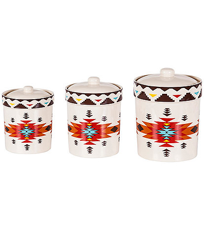 HiEnd Accents Del Sol 3-Piece Canister Set