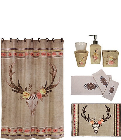 HiEnd Accents Desert Skull 20-Piece Bath Collection