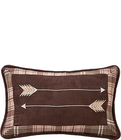 HiEnd Accents Embroidery Arrow Pillow