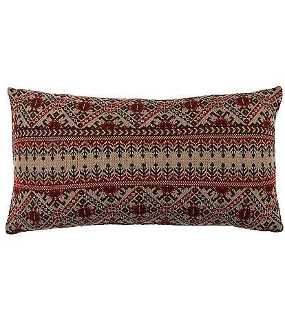 HiEnd Accents Fair Isle Bolster Pillow