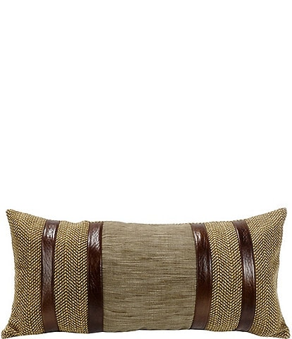 HiEnd Accents Herringbone Pillow