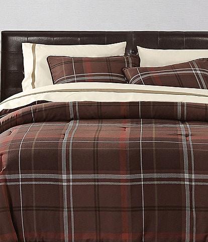 HiEnd Accents Jackson Plaid Comforter Mini Set