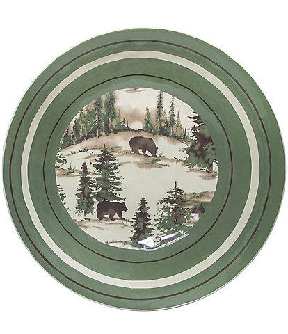 HiEnd Accents Joshua Melamine Dinner Bowl, Set of 4