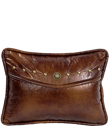HiEnd Accents Oblong Envelope Pillow With Studs