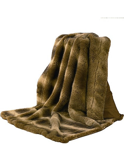 HiEnd Accents Oversized Wolf Throw