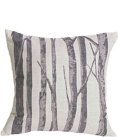 HiEnd Accents Printed Branches Pillow