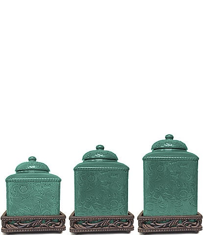 HiEnd Accents Savannah Canister Set