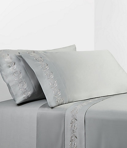 HiEnd Accents Scroll Embroidery Sheet Set