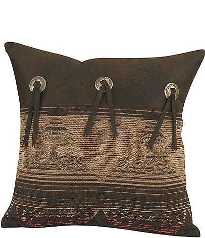 HiEnd Accents Sierra Square Pillow