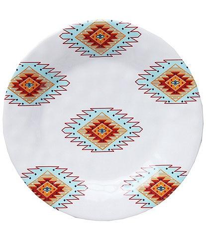 HiEnd Accents Southwest Melamine Salad Plate, Set of 4