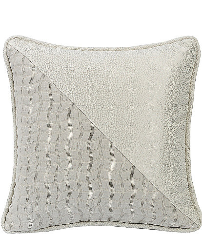 HiEnd Accents Square Half and Half Decorative Pillow