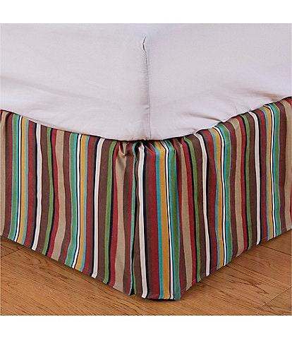 HiEnd Accents Tammy Stripe Bed Skirt