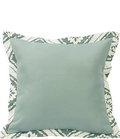 HiEnd Accents Textured Fabric Square Pillow