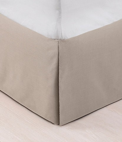 HiEnd Accents Trent Taupe Bed Skirt