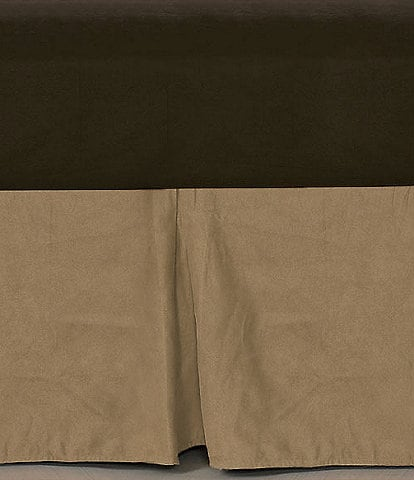 HiEnd Accents Velvet Bedskirt