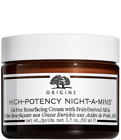 High-Potency Night A-Mins Oil-Free Resurfacing Cream with Fruit-Derived AHAs