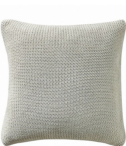 Highline Bedding Co. Driftwood Knit Square Pillow