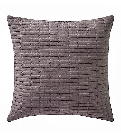 Highline Bedding Co. Driftwood Quilted Square Pillow