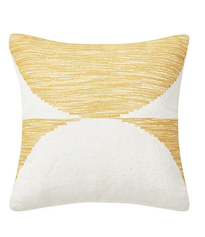 Highline Bedding Co. Habit Crewel Embroidered Square Pillow